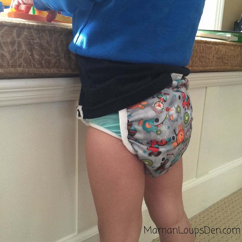 Bummis Potty Pant Review ~ Maman Loup's Den ~ On Cub