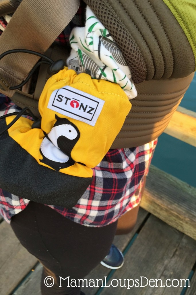 Stonz Booties Review -Perfect for Babywearing - Maman Loup's Den