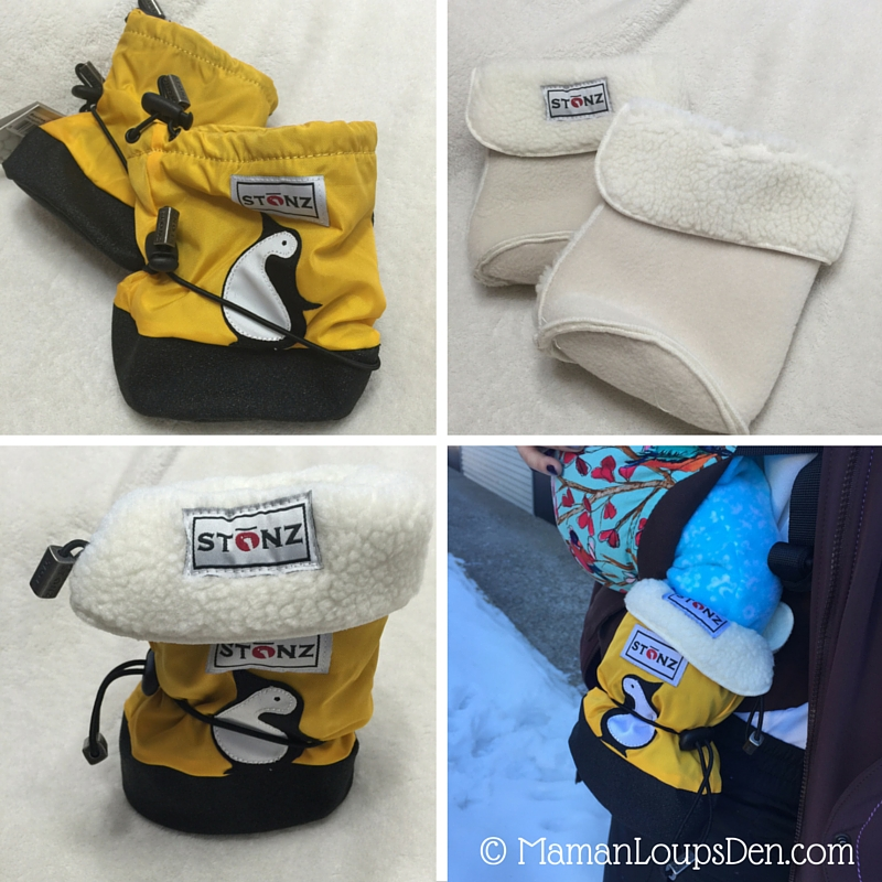 Stonz Bootz Review - Perfect Baby Winter Booties - Maman Loup's Den