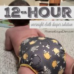 12-hour Overnight Cloth Diaper Solution