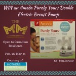 Ameda Purely Yours Breast Pump Giveaway