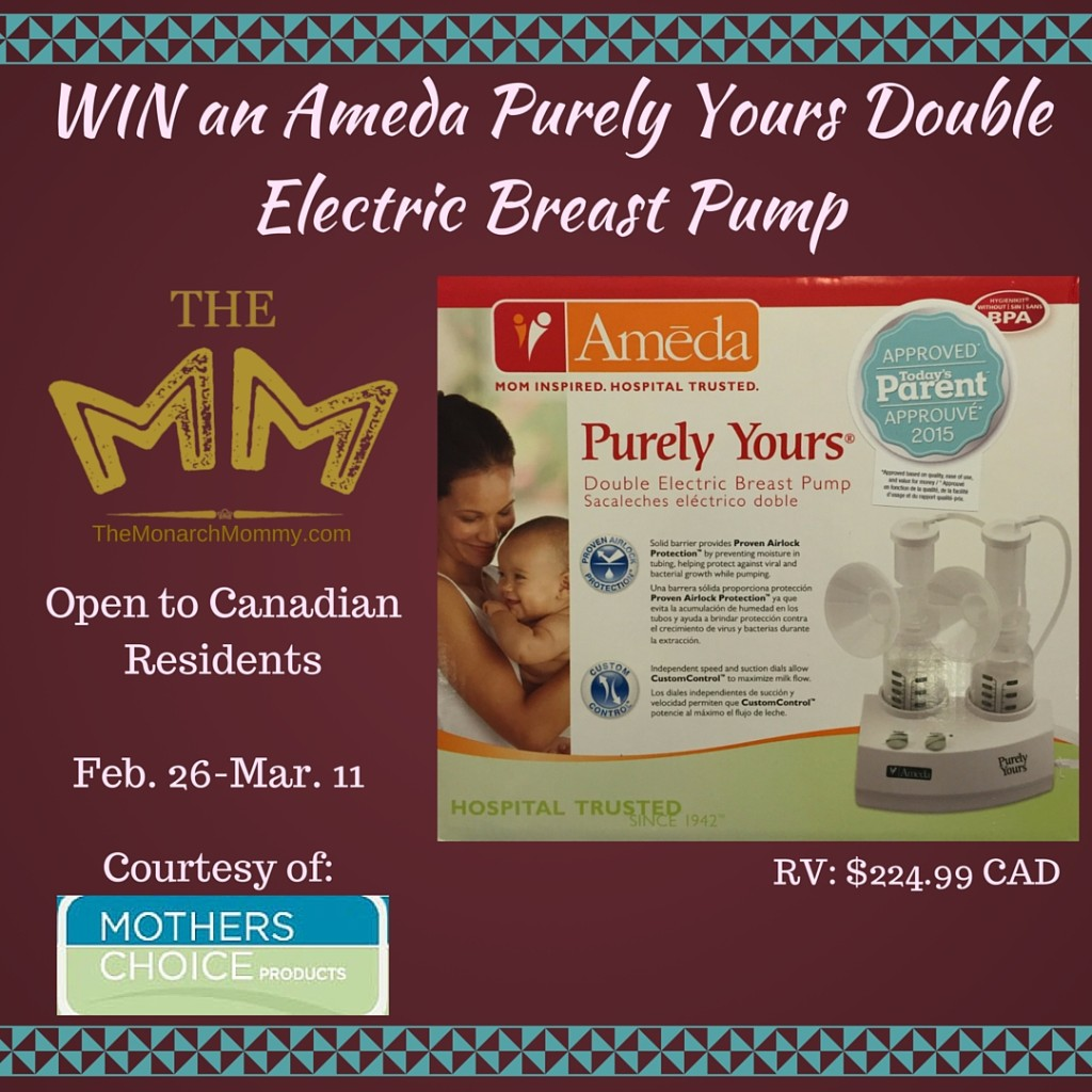 Ameda-Purely-Yours-Double-Electric-Breast-Pump-GIVEAWAY-1024x1024