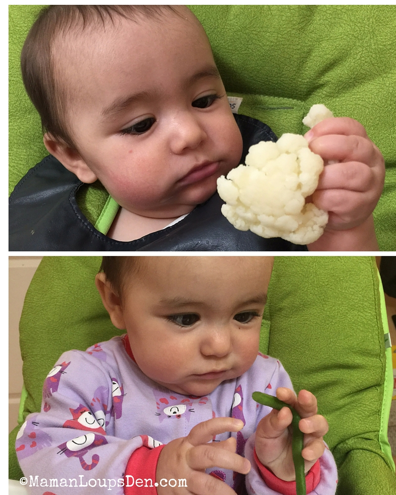Babyled Weaning in our Tiblit