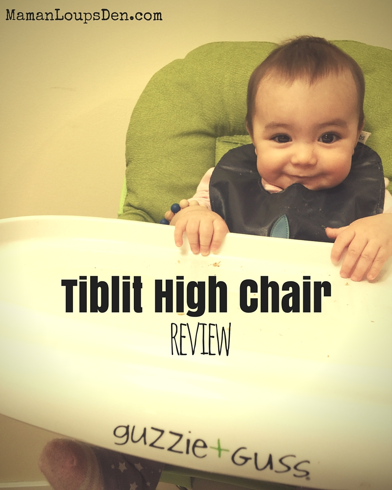 Guzzie & Guss Tiblit High Chair Review