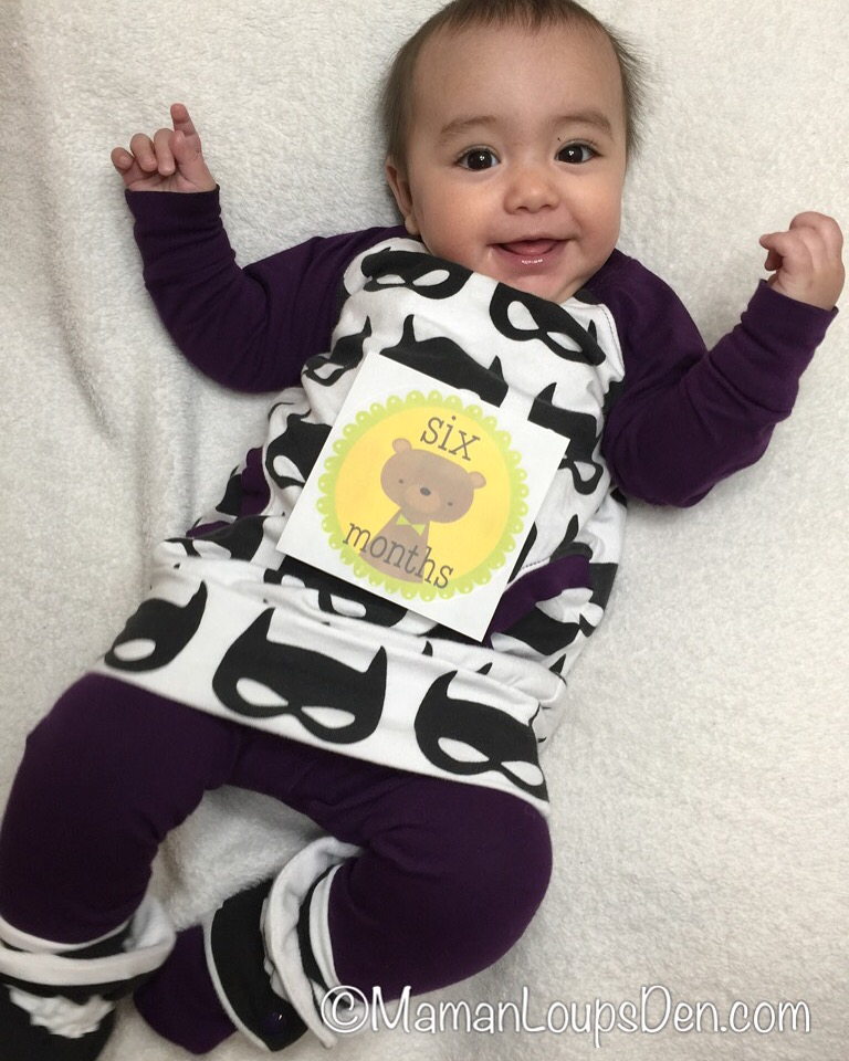 Little Miss Cub's 6-month-old Milestones