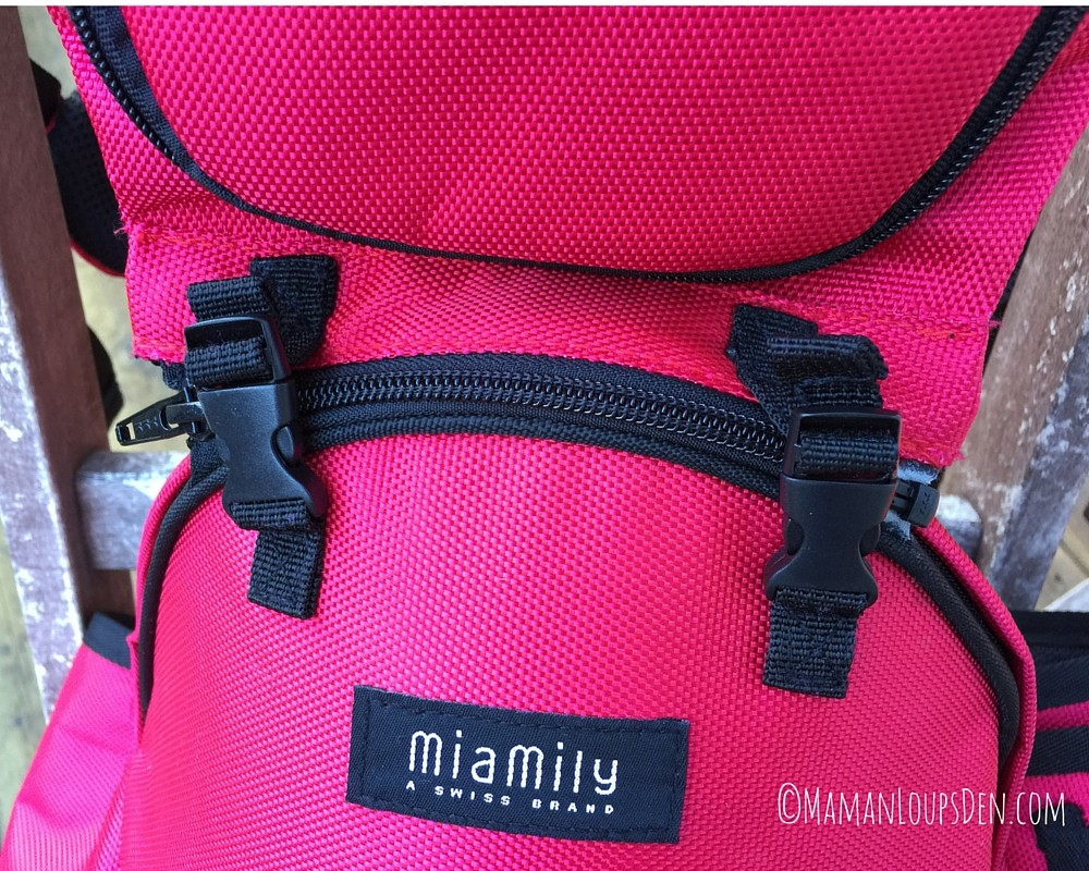 MiaMily Attaching Straps to Waist Belt