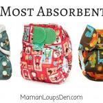 Top 3 Most Absorbent AIOs - Maman Loup's Den