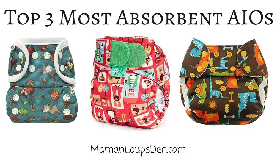 Top 3 Most Absorbent All-in-One Diapers