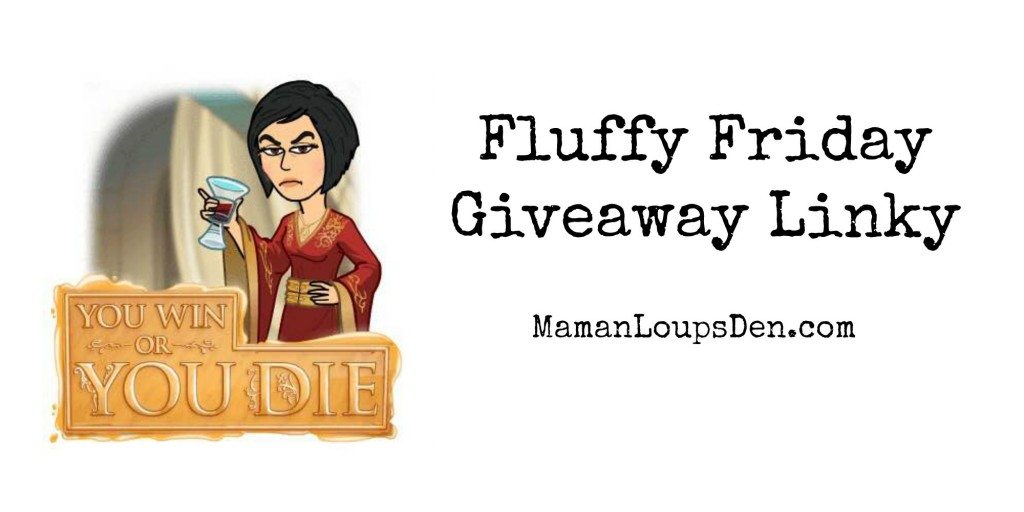 Fluffy Friday Giveaway Linky 4/1