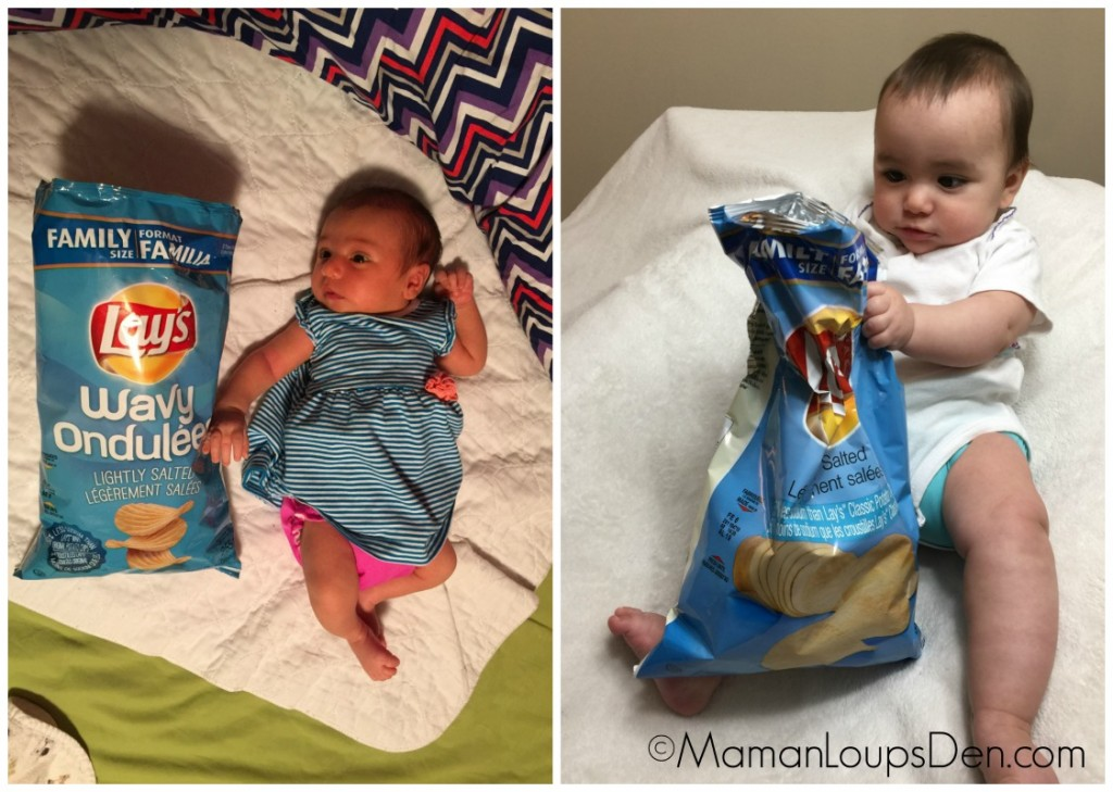 Little Miss Cub is 7 months old… all that and a bag of chips!