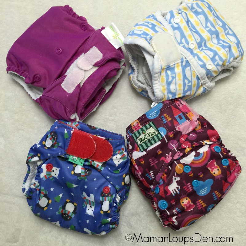 My favourite velcro cloth diapers