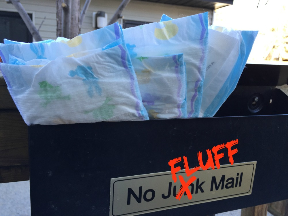 No fluff mail allowed