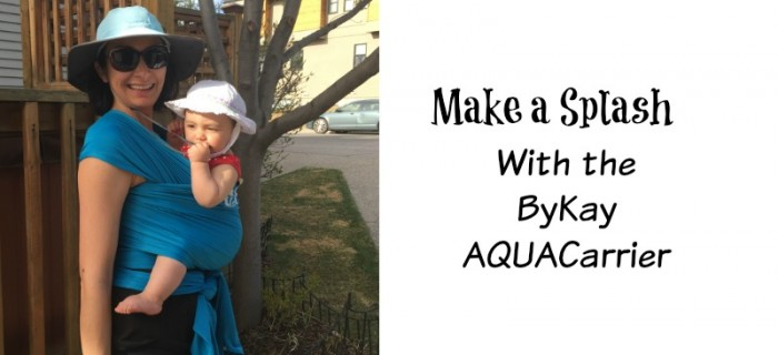 Make a Splash with the ByKay AQUACarrier {+ Canada only giveaway}