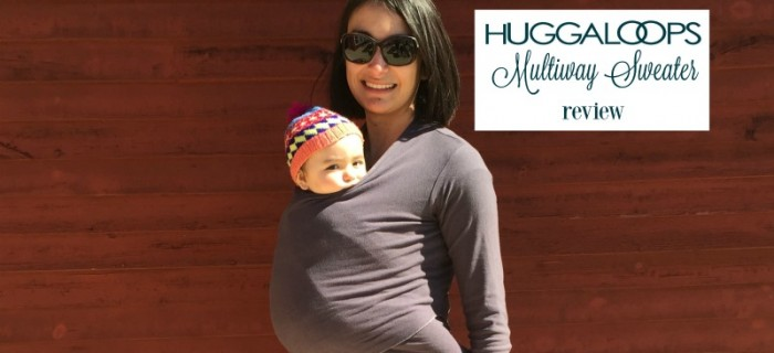 Huggaloops Multiway Sweater Review {+ Giveaway}
