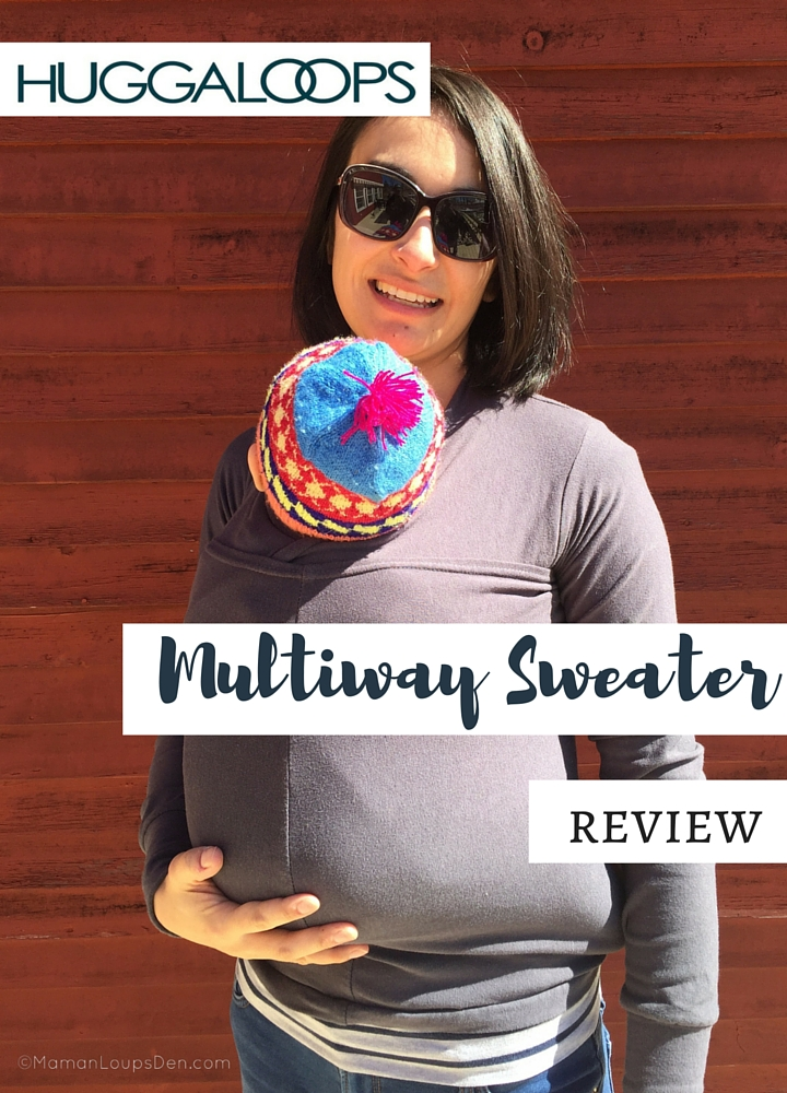 Huggaloops Multiway Sweater Review