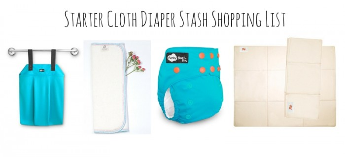 A Starter Cloth Diaper Stash
