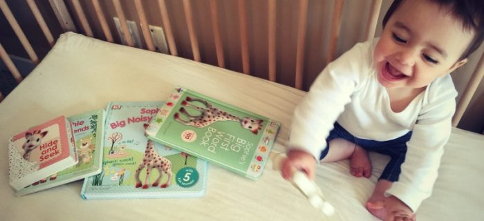 4 Books for Fans of Sophie la girafe #SophieLaGirafeBirthday {+ giveaway}