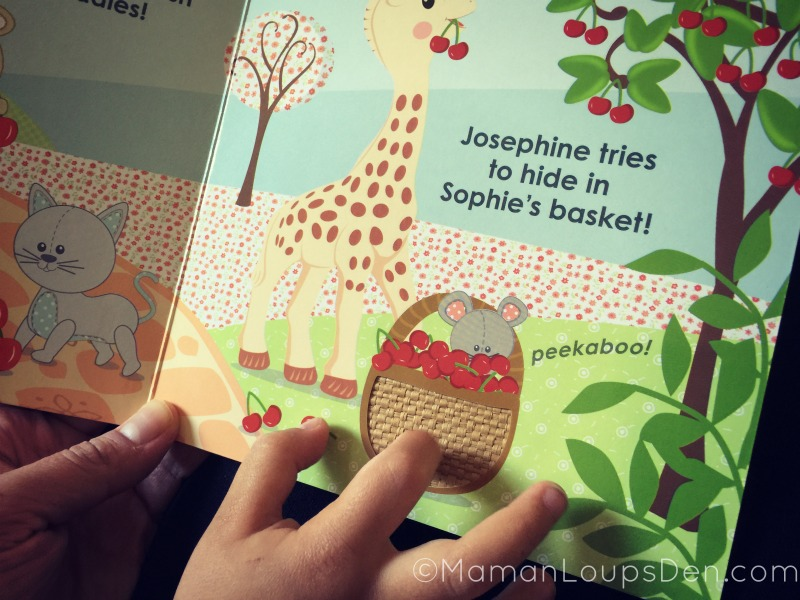 Sophie la girafe touch and feel