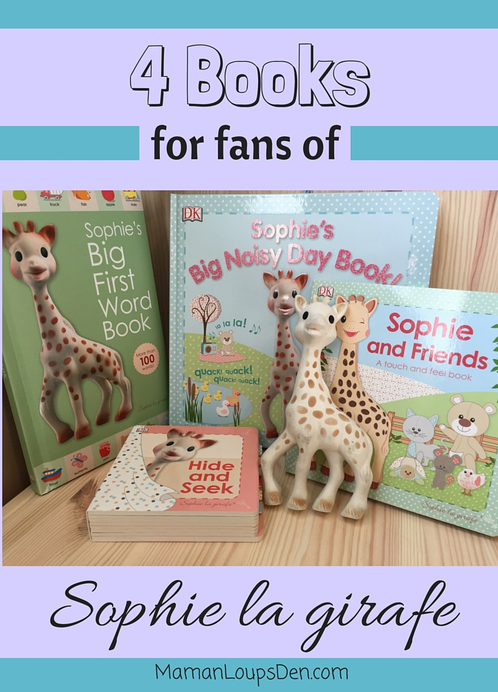 4 Books for Fans of Sophie La Girafe (1)