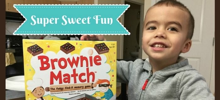 Brownie Match Game for Preschoolers {+ #MaytheOddsHop Giveaway}