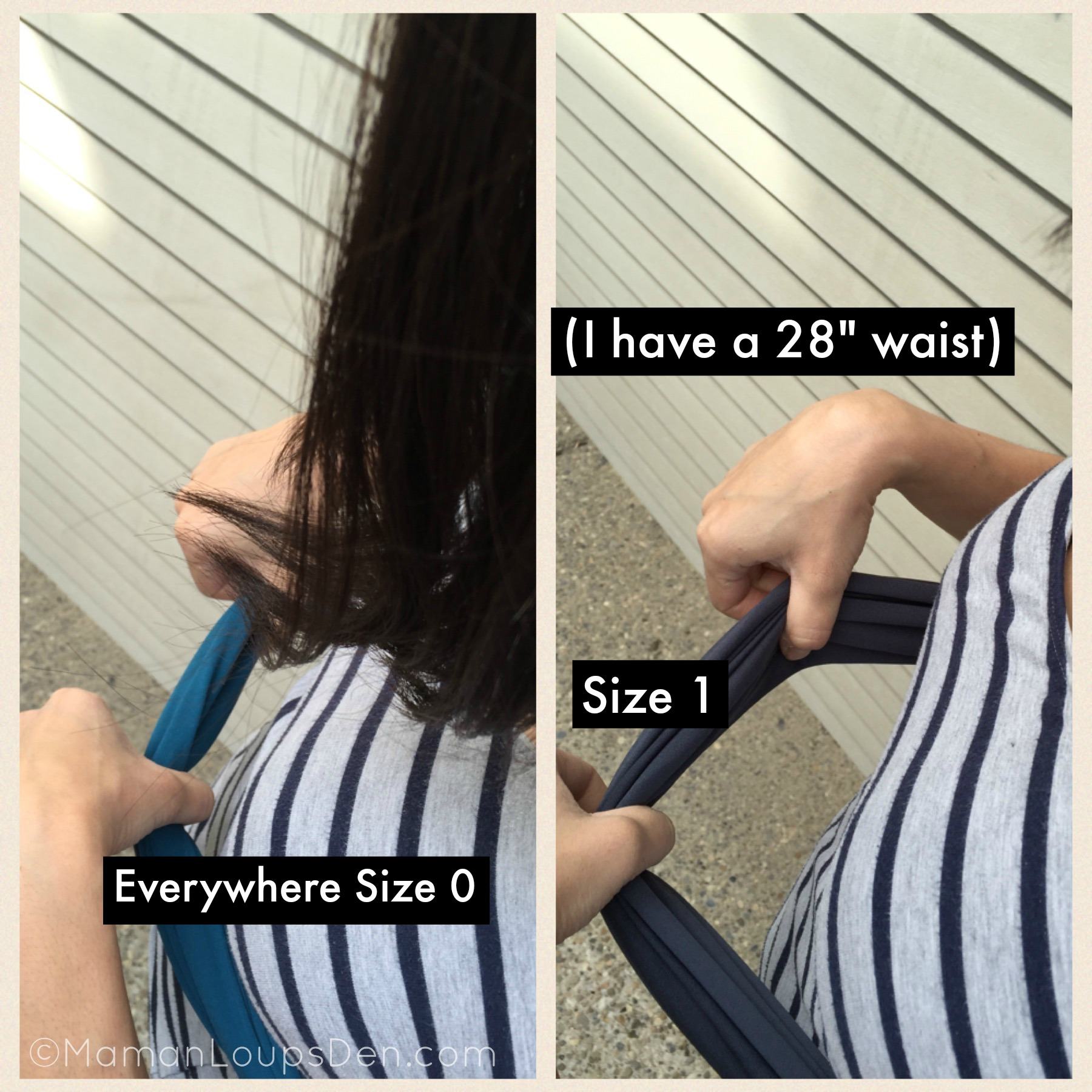 Everywhere Size 0 vs Size 1