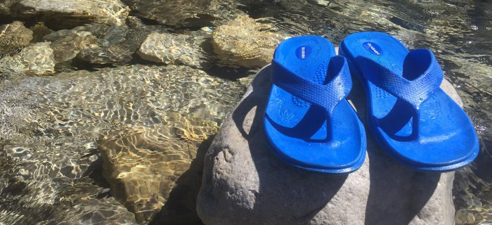 Okabashi Flip Flops: Comfortable Feet Without the Footprint (+ a Giveaway)
