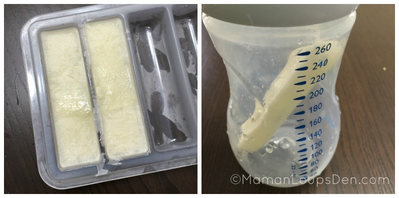 Milkies Milk Trays - Frozen milk