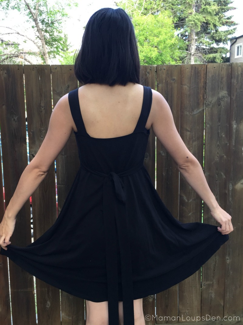 Momzelle back of Jenny Dress