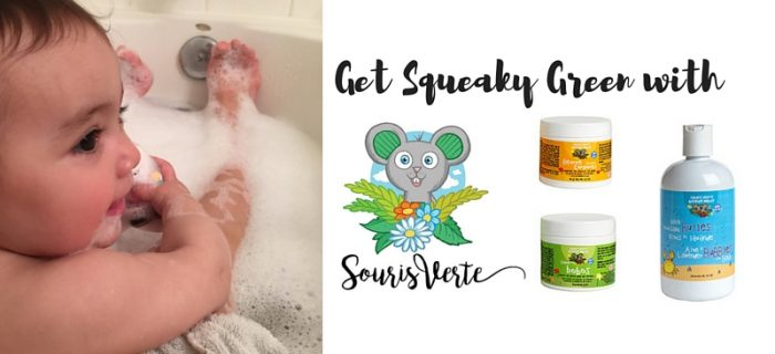 Get Squeaky Green with Souris Verte {+ a giveaway}