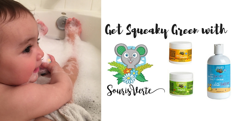 Get Squeaky Green with Souris Verte