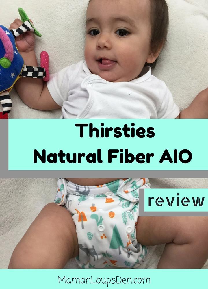 Thirsties Natural Fiber AIO Diaper Review