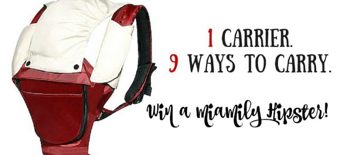 Win a MiaMily Hipster Carrier!