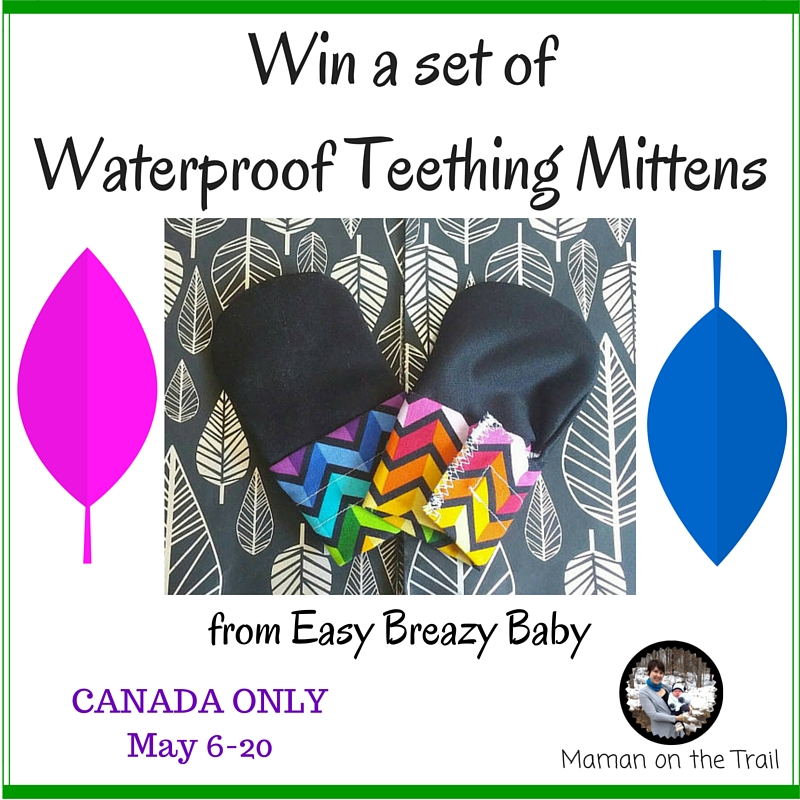 Win a set of Waterproof Teething Mittens (1)