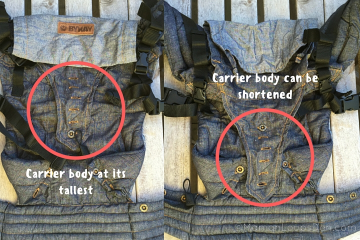 ByKay Adjust Carrier Height