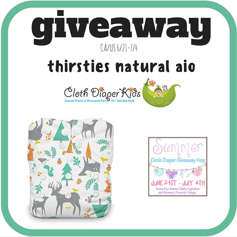 Cloth Diaper Kids Giveaway