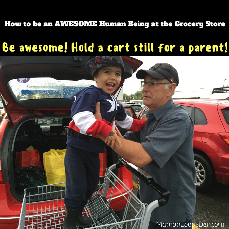 Hold a cart