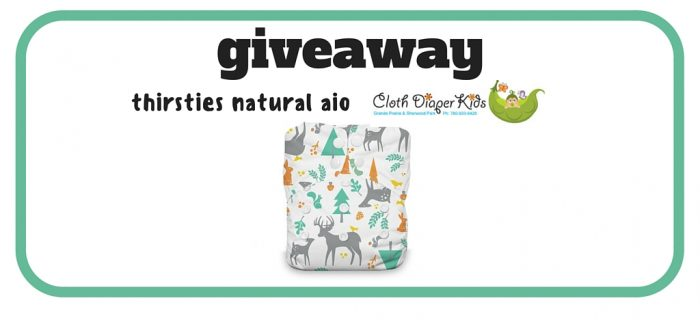 Thirsties Natural AIO Giveaway