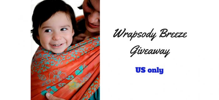 Wrapsody Breeze Woven Wrap Giveaway {US only – 7/10}