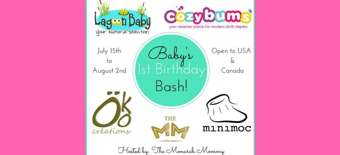 Baby's 1st Birthday Bash Giveaway {CA/US 8/2}