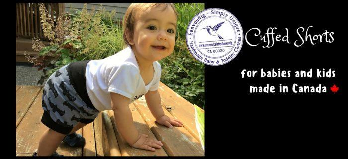 Eenvoudig Children's Cuffed Shorts Review {+ a Giveaway}