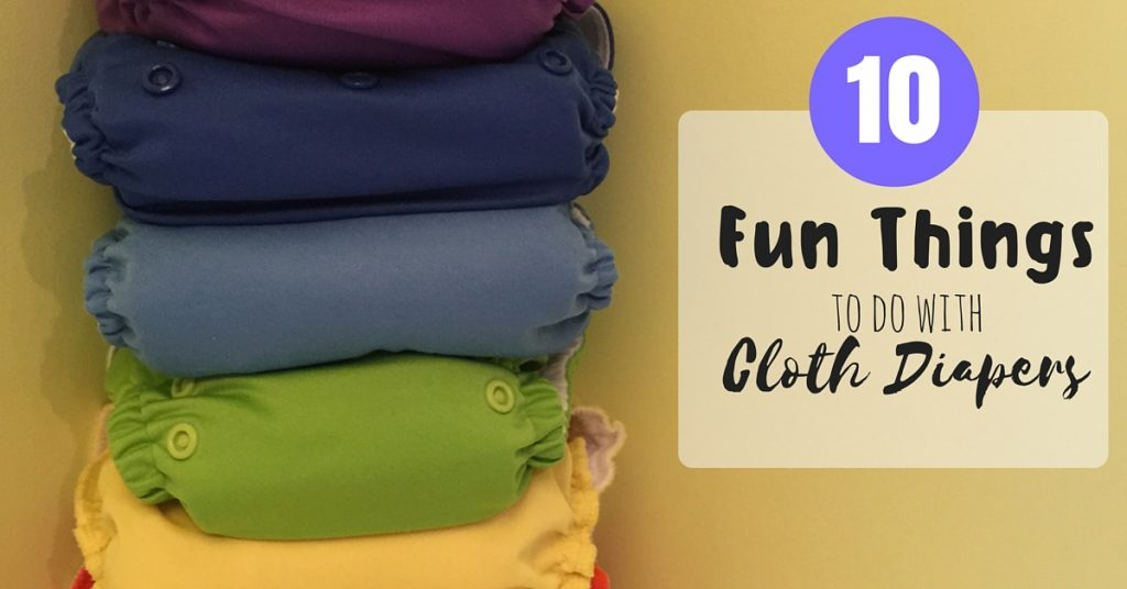 10 Fun Things To Do With Cloth Diapers