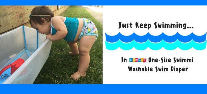 Just Keep Swimming… in Bummis' Swimmi! {+ a Giveaway}
