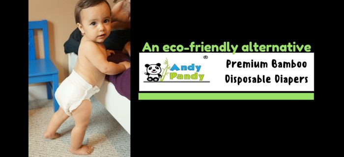 Andy Pandy Bamboo Disposable Diapers { + $100 Amazon GC giveaway}