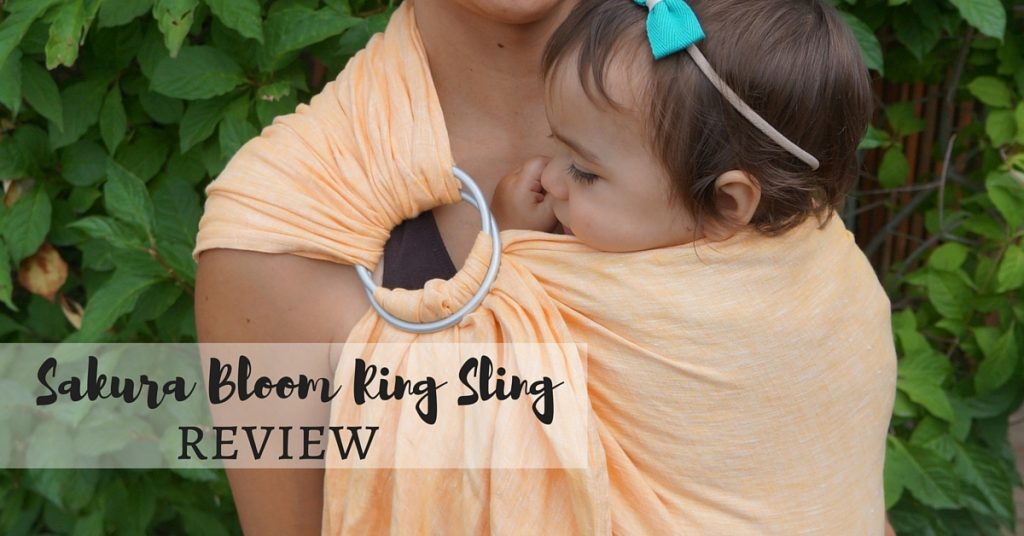 Sakura Bloom Chambray Ring Sling Review
