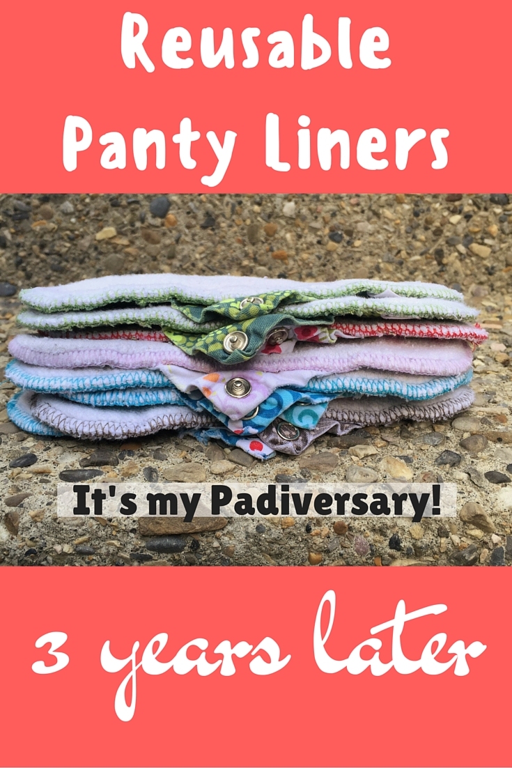 Reusable Panty Liners - 3 years later with Öko Creations