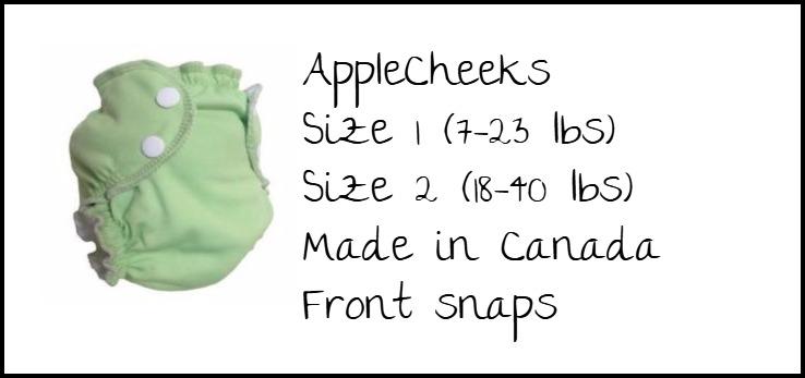 AppleCheeks Swim Diaper Specs