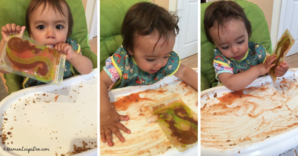 How to Keep Clean When You Baby-Led Wean ~ Maman Loup's Den