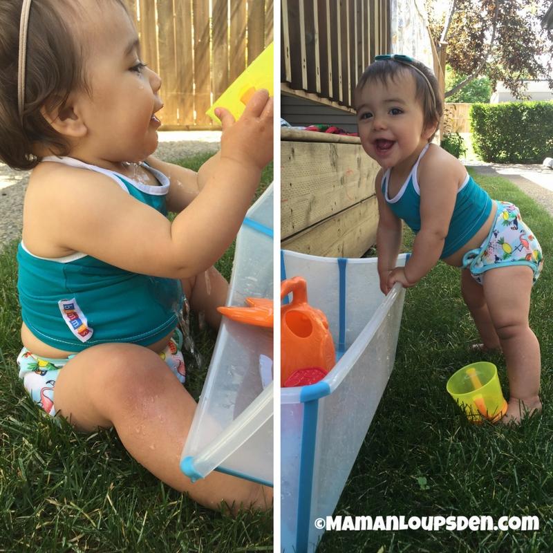 Bummis Swimmi on Little Miss Cub