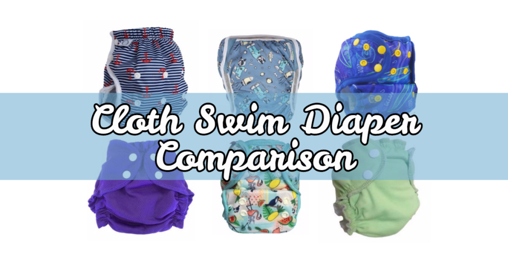 Cloth Swim Diaper Comparison