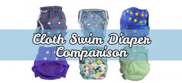 Cloth Swim Diaper Comparison